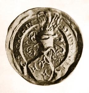 1483-1527 Sceau de Joachim Séjournet (IV) version antique