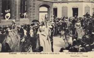 pipaix,ghyssegnies,1913,tournoi de chevalerie,tournai,parthon de von,béclers