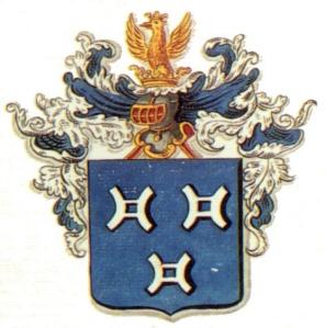 128 de Séjournet de Rameignies - blason 1816.jpg