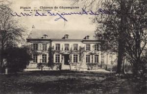 Château de Ghyssegnies (Amédée dSdR) 7.1906 verso c Eric de Séjournet.jpg