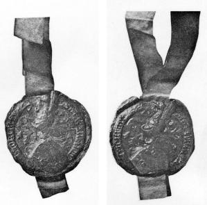 Franchois montage sceaux 1561 et 1561