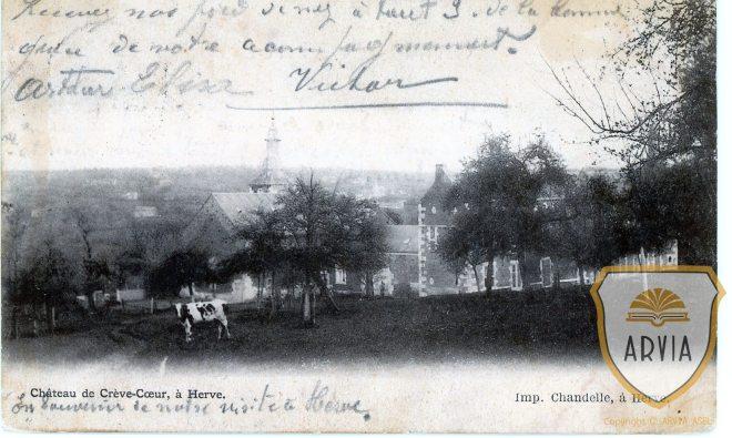 VDHER-HERVE-1900-Ed-Chandelle-Château-de-Crevecoeur294-Arvia-n°002433