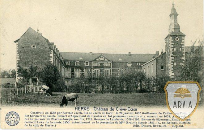 VDHER-HERVE-1925-Ed-Desaix-Château-de-Crève-Coeur041-Arvia-n°002478-1024x655